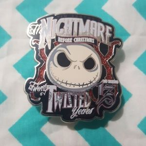 Disney Nightmare Before Christmas Jack Pin